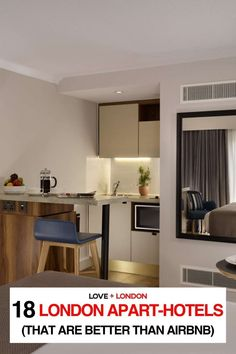 As a Londoner and a travel expert, I don't think anyone should be booking airbnbs in London. If you still want somewhere to stay that has a kitchen and sitting area, here are some incredible London apart-hotels that are better than staying in an airbnb in London. Two Bedroom Apartments, Rental Apartments, London Tips, Phoenix Homes, Travel Expert, Mansions Homes, London Hotels, Modern Farmhouse Style, Sitting Area