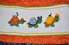 Turtle Trot-detail  Great Smocking tutorial in three parts.  Great ideas and website too.