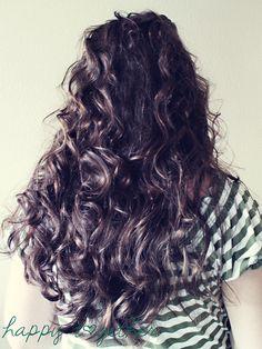 No heat EASY curls!