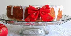 Bolo de Frutas Natalino Especial e Outras coisas de Natal