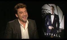 Entrevista Javier Bardem - Skyfall-actor from Spain