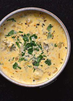 Oyster Stew Recipe from shewearsmanyhats.com