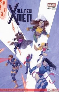 X-MEN 50TH ANNIVERSARY VARIANT DECADES COVERS