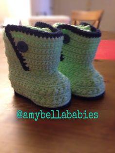 Yarn Booties