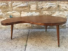 #Vintage #MidCenturyModern #Walnut #KidneyShaped #CoffeeTable -Click In Link For All Info Mid Century Modern Furniture, Midcentury Modern, Walnut Finish, Homesteading, Table, Vintage, Inspiration, Link, Home Decor