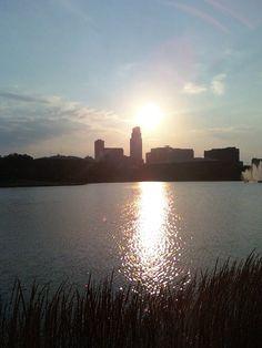 Omaha,Nebraska - small skyline, but a huge part of my life!