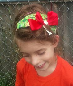 Check out this item in my Etsy shop https://www.etsy.com/listing/237606663/teenage-mutant-ninja-turtles-headband
