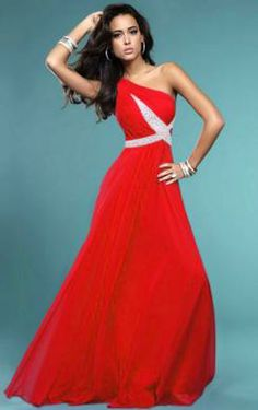 Beautiful Floor Length Fushia Evening Prom Dress LFNAE0004