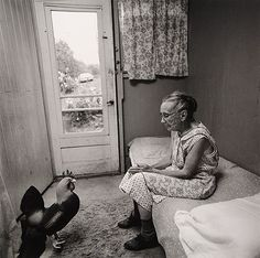Arthur Tress, Charlotte Olds and Rooster, NY, 1975