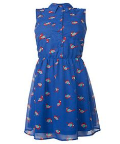 Mela Blue, I think a dress like this suits girls with great legs...and curves!*
