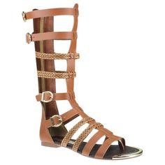 Sandália Tanara Gladiadora N6243 - Caramelo 0002 (Fresh) - Calçados Online Sandálias, Sapatos e Botas Femininas | Katy.com.br
