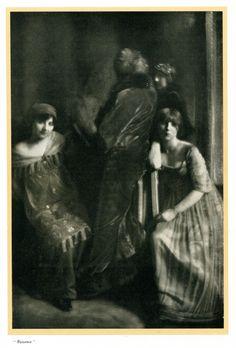 1911 - Dress by Paul Poiret, photo by Edward Steichen