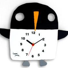 TARO GOMI【直筆サイン入り】五味太郎 オリジナル時計 「ペンギン」