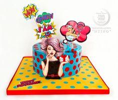 Pop Art Lady by Aspasia Stamou