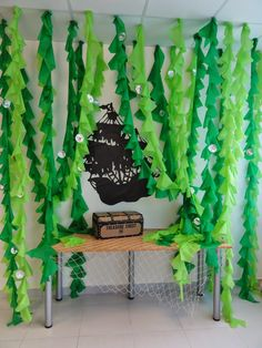 Stunning Under-The-Sea Decorating Ideas Kids Would Love The Charming Classroom: Ocean Classroom Theme Under The Sea Theme, Under The Sea Party, Fete Audrey, Anniversaire Harry Potter, Vacation Bible School, Pirate Theme, Ocean Themes, Classroom Themes, Ocean Themed Classroom