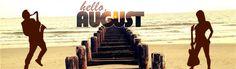 Hello August music saxophone guitar fb cover
