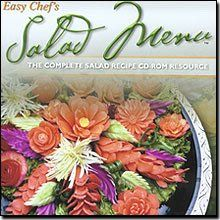 "$7.04-$5.40 Easy Chef's Salad Menu - The complete salad recipe CD-ROM resourceProduct InformationEasy Chef's ""Salad Menu"" recipe software is loaded with every kind ofsalad you can imagine from classic to unique. Find dozens of ways to jazz up aCaesar Salad or explore entirely new and exciting pasta bean and fruit salads.There are even hundreds of great dressing recipes. Imagine your friends face ..."