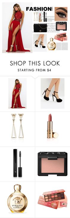 A fashion look from March 2018 featuring lace ball gown, black high heel pumps and rock crystal drop earrings. Browse and shop related looks. Versace, Asos, Forever 21, Passion, Shoe Bag, Polyvore, Shopping, Collection, Design