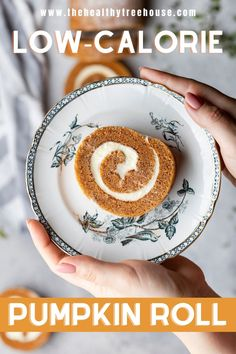 A delicious, #glutenfree, #dairyfree, #vegan, and #lowcarb ginger pumpkin roll that will surely end your holidays with a refreshing and fulfilling taste. Thanks to the coffee that's featured in this recipe, perfectly contrasting with the sweetness and richness of this dessert and/or the previous meal. Now, you don't need an after-dinner coffee as this recipe simply rounds off a meal without the guilt. #thanksgivingpie #holidaydessert #pumpkinpie #vegandessert #glutenfreedessert…