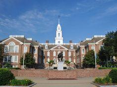 Delaware State Capitol Building in Dover