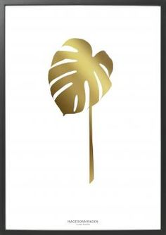 FOLIUM GOLD (FG5) - SPECIAL EDITION - 30 * 40 - HAGEDORNHAGEN #hagefornhagen #gold #photoart #plakat #houseofbk #limitededition #exclusive @houseofbk.com