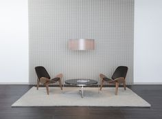 Studio by Parametre is the perfect textural wall covering to bring an extra pop to your white walls. Sustainable Building Materials, Textured Walls, White Walls, Industrial Design, Architecture Design, Dining Table, Pop, Studio, Furniture
