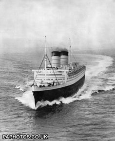Transport - 'Queen Elizabeth' Speed Trials - Firth of Clyde | Ocean Liners | Friends Reunited