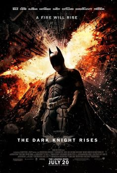 Check out the new poster for The Dark Knight Rises. We are very excited about this epic conclusion to the new Batman series!!