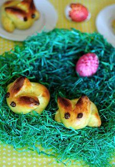 Norwegian Easter Bunny Bread
