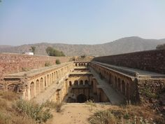 Neemrana Baoli, Neemrana, Rajasthan.