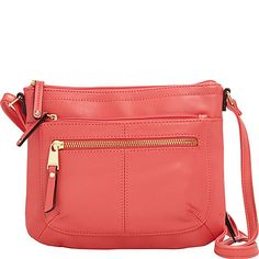 Buy the Tignanello Pretty Pockets Small Crossbody with RFID at eBags - With multiple pockets for organization, this little crossbody bag offers classic style and ample sto