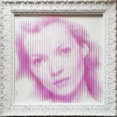 ORIGINAL On Glass Kate Moss Interface Pink Gold