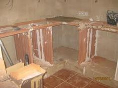 1000 images about cocinas de obra on pinterest google - Cocina de ladrillo ...