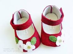 felt booties - Google Search