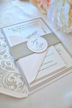 Romantic Champagne and Blush Wedding by OuttheBoxCreative on Etsy