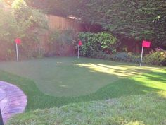 See our putting green installation process in these pictures from a garden golf green we installed in Windsor. You can design your green however you like. Golf Green, Can Design, Baseball Field, Windsor, Garden, Pictures, Garten, Photos, Gardening