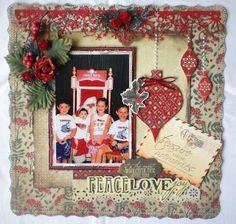 Sew Creative: Christmas Layout