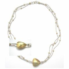 This sterling silver 18K vermeil necklace - another fine reward for supporting Eva Nepal. http://c-fund.us/83f