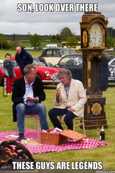 Yes, there is one incredibly short Hamster missing for the unit to be complete, but anyway.We miss our Top Gear. Top Gear Funny, Top Gear Bbc, Clarkson Hammond May, James May, Jeremy Clarkson, British Humor, Lol, Grand Tour, Car Humor