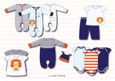 Babywear - Boys by Susan Podesta at Coroflot.com