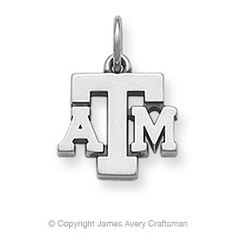 Texas A & M Charm from James Avery. I need this to go with all of my A shirts :)