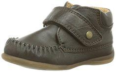 BellyButton Klett - Mokassin - Zapatos primeros pasos de cuero para niño, color marrón, talla 24