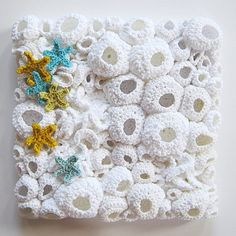crochet inspiration - contemporary free form art