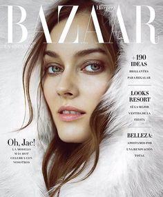 Jac Jagaciak - Harper's Bazaar Spain, December 2016