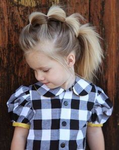 Look Over This cool 17 Super Cute Hairstyles for Little Girls – Pretty Designs by www.top-hair-cuts… The post cool 17 Super Cute Hairstyles for Little Girls – Pretty Designs by www. Girl Hair Dos, Girl Short Hair, Super Cute Hairstyles, Beautiful Hairstyles, Crazy Hair Days, Kids Crazy Hair, My Baby Girl, Hair Inspiration, Short Hair Styles