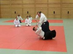 Aikido Wels - Training im Budokan Wels, April 2012
