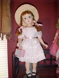 """20"""" Madame Alexander Polly Pigtails RARE size from patsdolls4u on Ruby Lane"""