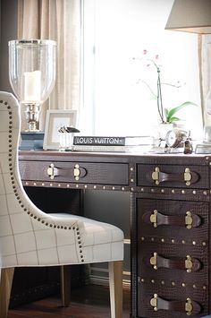 amazing nail head desk and chair