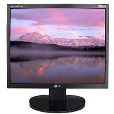 monitor lg 17 polegadas /dvi/vga/cabo video/cabo