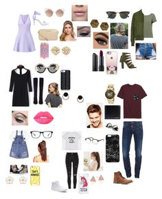 """""""Untitled #558"""" by oliviamarvel on Polyvore featuring Alice + Olivia, Topshop, WithChic, Elizabeth and James, River Island, Vans, Gianvito Rossi, Steve Madden, MICHAEL Michael Kors and MANGO"""
